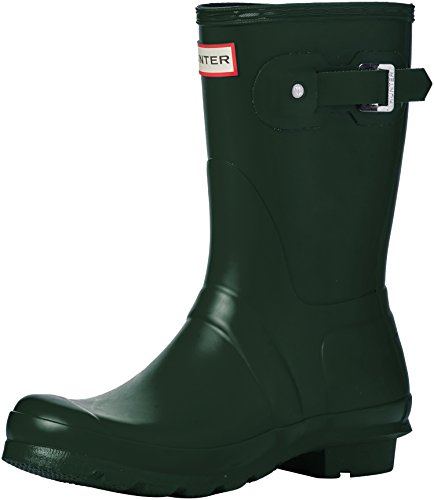 Hunter Damen Wellington Boots Gummistiefel Grün (Green Hgr)