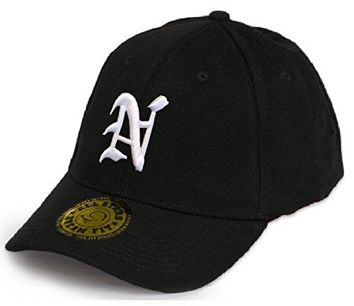 Baseball Snap Back Bonnet Cap Chapeau Casquette Snapback 3D Gothique A-Z Hip-Hop (S) N