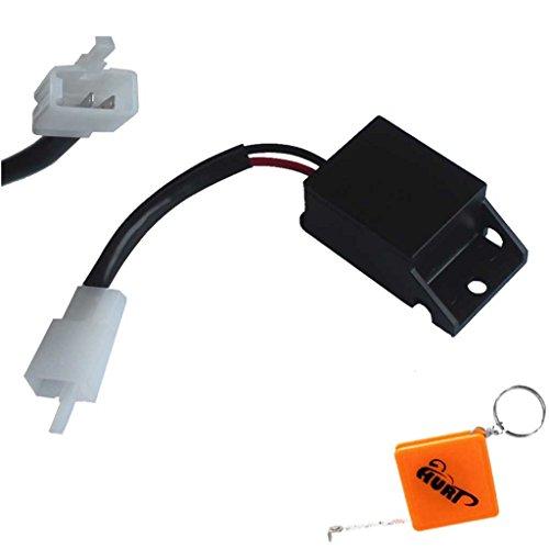 huri 12V 2Pins/Pole LED indicatore di direzione Blinker relè cablaggio Last accelerazioni adatto per Kawasaki ZX6R ZX-6RR 636ZX9R ZX10R ZX12R Blink GEBER Relay