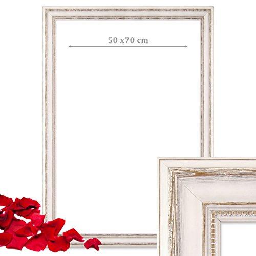 Hochzeits-Bilderrahmen | 50 x 70 weiß - 2