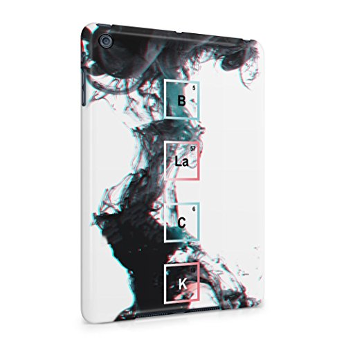BLACK Periodic Chemical Elements Plastic Tablet Case Cover Shell For iPad Mini 1 Custodia