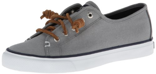 Sperry Top Sider Seacoast Damen US 7.5 Grau Turnschuhe UK 5 EU 38 (Sperry Sider Top Seacoast)