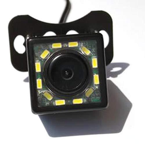 HoganeyVan 12LED CCD Imaging Sensor Night Vision Car Rear View Camera Waterproof 170 Wide Angle Vehicle Backup Parking Camera Imaging Sensor
