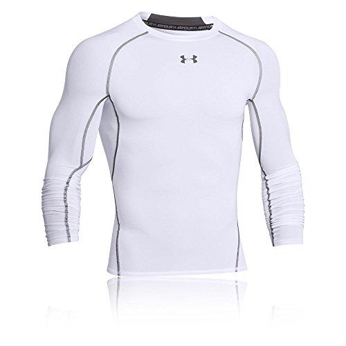 Under Armour Herren HeatGear Armour Unterhemd, Weiß, Gr. XXL Herstellergröße XXL