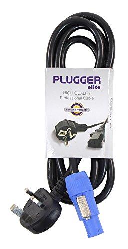 plugger-cable-de-alimentacin-18-m-powercon-norma-uk-elite-color-negro