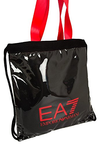 EA7 Sporttasche Damen Fitness Tasche beach mesh Schwarz Emporio Armani uF5HFJr