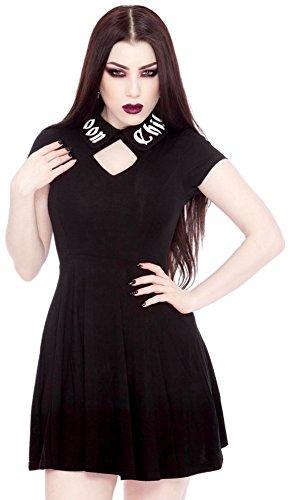 Killstar Kleid LUCINE SKATER DRESS schwarz Schwarz