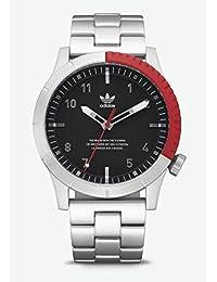 1aa8766ec89af Adidas Reloj Analógico para Hombre de Cuarzo con Correa en Acero Inoxidable  Z03-2958-