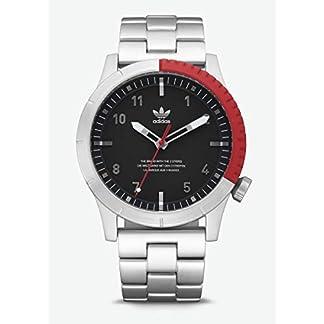 Adidas Reloj Analógico para Hombre de Cuarzo con Correa en Acero Inoxidable Z03-2958-00