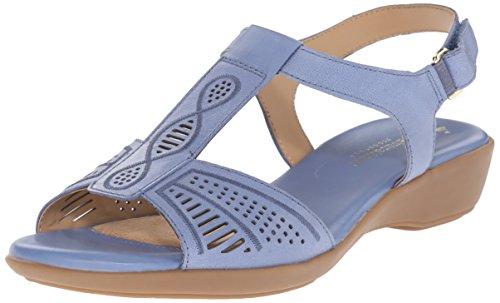 Naturalizer Network Femmes Cuir Sandale blue