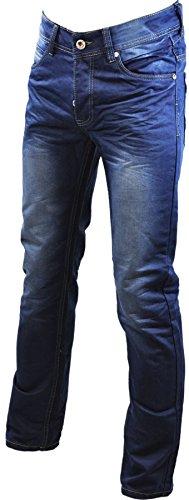Pantalon jeans homme coupe droite sergio collection Bleu 771