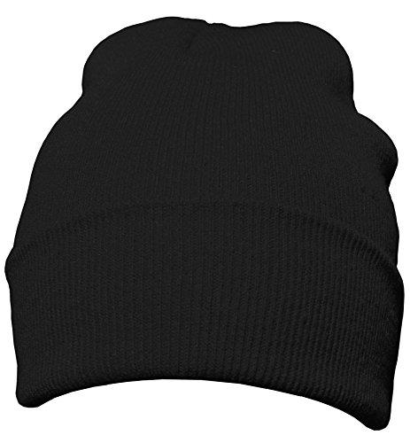 DonDon Bonnet pour l'hiver avec design classique et mod