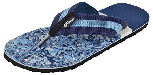 Parker Footwear Men's Blue Flip-Flops - 7 UK