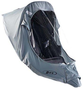 BOB, Telo anti pioggia (per culla o passeggino), Grigio (grau)