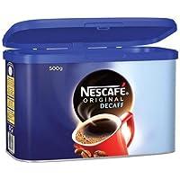 Café descafeinado Nescafe Original 500G lata, 5200400124081