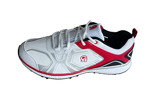 CA 7K Red White Cricket Shoes (EU-Size 41)