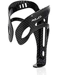 XLC cage bidon alu BC-A04 (Version: style carbone, form pleine SB-plus) Porte-bouteille métal pour vélo support bidon