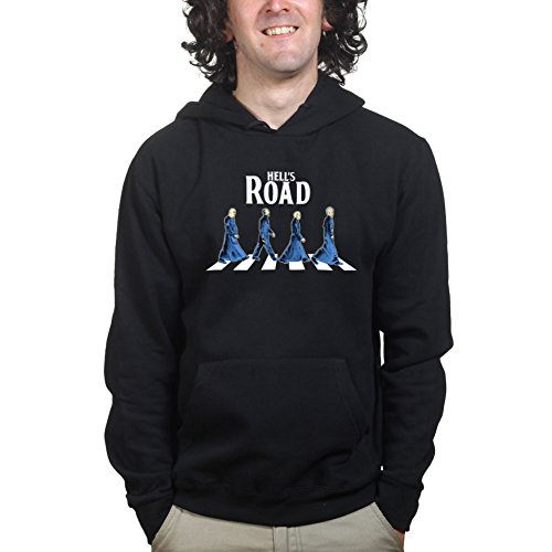 HellsRoadHalloweenPartyCostumeHoodieBLK3XL XXXL Black (Road T-shirt Schwarz Abbey)
