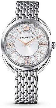 SWAROVSKI Women's Crystalline Glam Quartz Watch Collection, Stainless S
