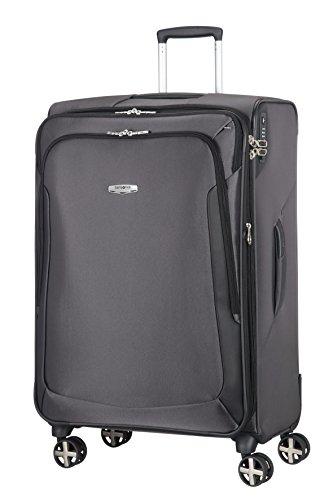 Samsonite X'BLADE 3.0 Spinner 78/29 Erweiterbar Koffer, 78 cm, 121 Liter, Grau/Schwarz - Erweiterbar Reisegepäck