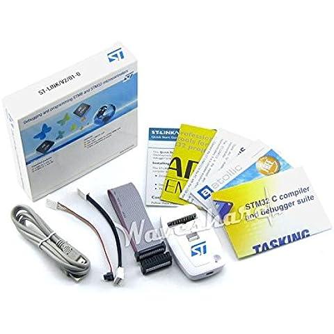 Waveshare ST-LINK/V2en versión STMicroelectronics STM8y STM32MCU usb JTAG emulador de programador DBS Depurador de circuitos//