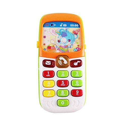 Gereton - Teléfono juguete niños bebés, regalo