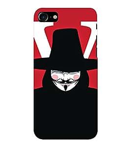 EPICCASE Vendetta Mobile Back Case Cover For Apple iPhone 7 (Designer Case)