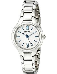 Bulova Women's 96L215 Analog Display Quartz Silver Watch