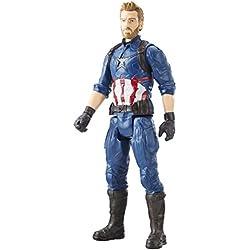 Marvel Figura Titan Hero Series Infinity War, Capitan America (Hasbro E1421EU4)