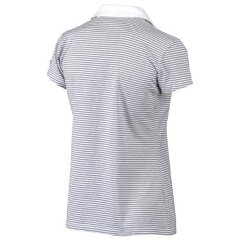Columbia Rocky Ridge Stripe Polo T-shirt femme Blanc - blanc