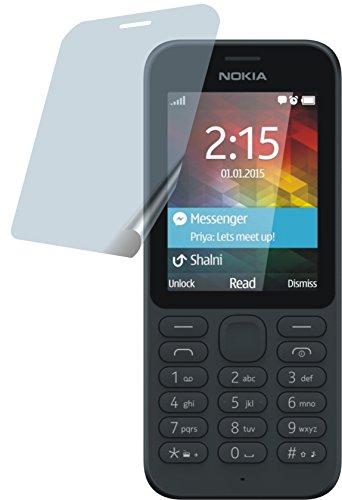 4ProTec Nokia 215 (2 Stück) Premium Bildschirmschutzfolie Displayschutzfolie ANTIREFLEX - Kratzfest UND PASSGENAU
