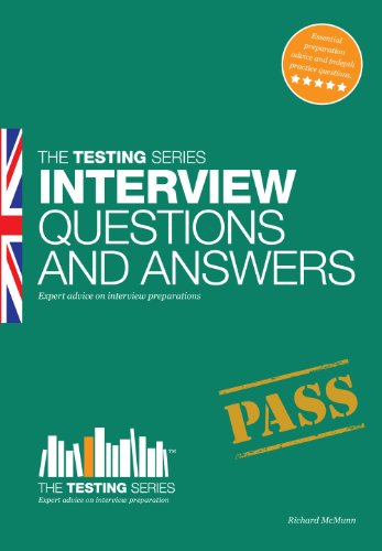 Interview Questions and Answers: 1 (Testing Series)