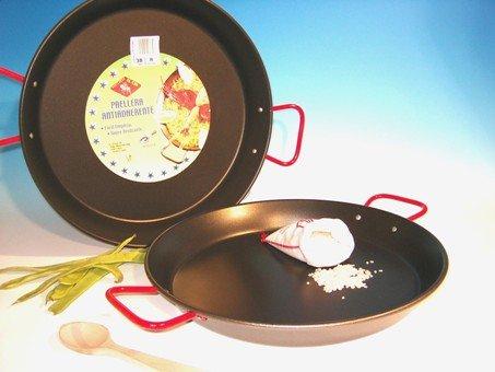 Price comparison product image Paellera Valenciana Antiadherente Para 6 Personas 34 cm.