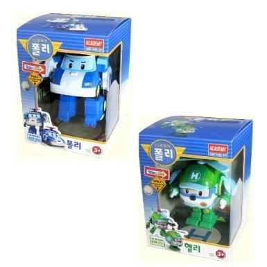 Poli Robot (Robocar Poli + Robocar Helly (2 Transformable Robot toys))
