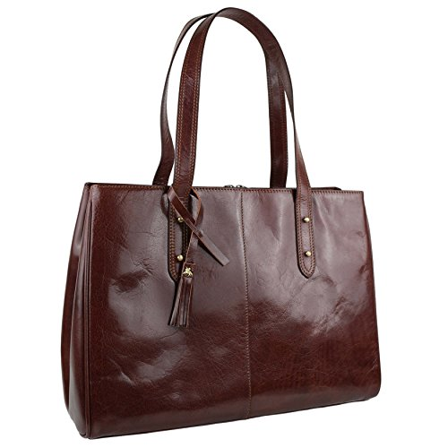 Visconti , Sac à main pour femme Marron Tan/Brown grand