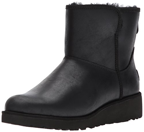 UGG Womans - Boots KRISTIN Leather - black, Size:6.5 UK