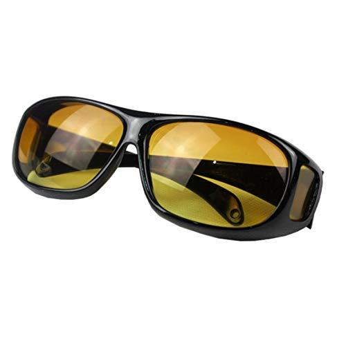 Kongqiabona Sonnenbrille Motorradbrille Nachtsichtbrille Sandschutz Driver Outdoor Sonnenbrille Nachts Low Light Night Vision Pc