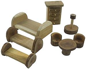 Lichee Toys 105009-Dormitorio Muebles en Bolsa de algodón para niños pequeños