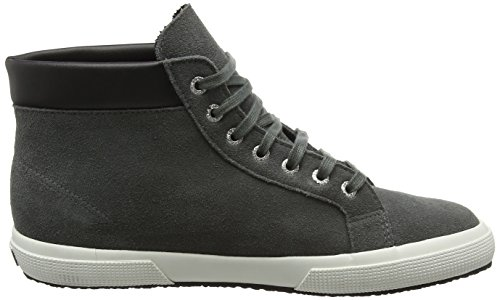 Superga 2204 Suem, Baskets Basses Mixte Adulte Gris - Grey (F28 Grey Stone)