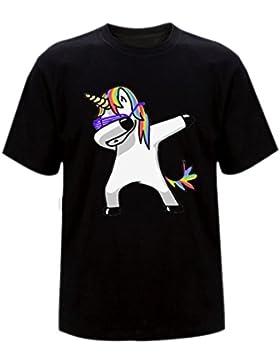 BienBien T Shirt Unicorno Donna Ragazza Felpe Estate Animali Stampa Tumblr Pullover Girocollo Camicetta Casual...