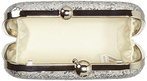 Bulaggi Damen Sesto Clutch, 04x09x16 cm Silber (Silber)