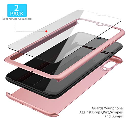 ROSEE Xiaomi Mi 9 Vetro Temperato(2 Pack)