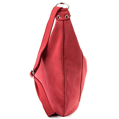 Borsa a mano borsa a tracolla shopping bag donna in vera pelle italiana T02 Orientrot