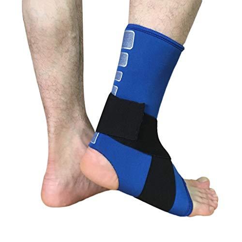 QUINTRA Socken Bandage Elastic Brace Guard Support Fußsocken Sport Sicherheit Knöchelunterstützung Söckchen (Guard Sneaker)