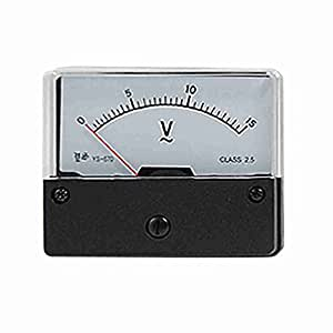 TTcity YS-670 Feineinstellung Dial Analog Voltage Panel Meter Voltmeter AC 0-15V
