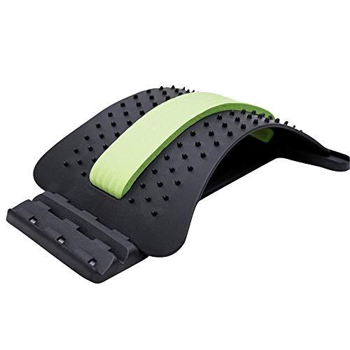 Preisvergleich Produktbild JUZEN Rückenmassage-Bahre,  Rücken-Stretching-Ausrüstung,  Zaubertrage,  Fitness,  Entspannung,  Rücken,  Haltungskorrekturgürtel, E