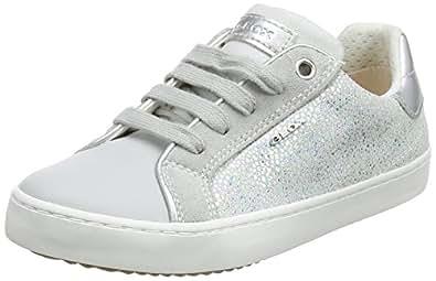 Geox J Kilwi D, Baskets Basses Fille, Blanc (White), 29 EU