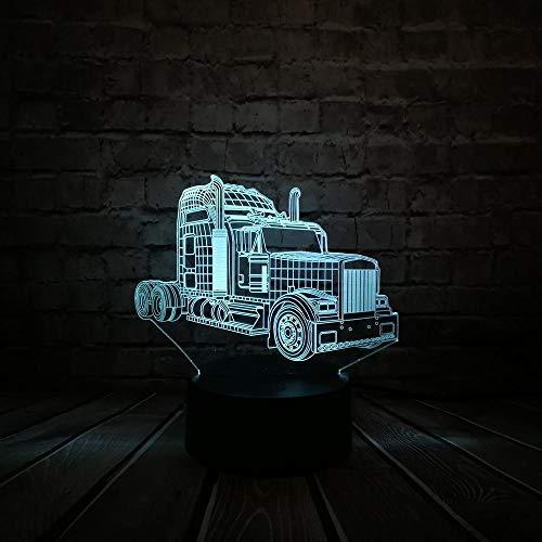 3d led nachtlicht usb illusion film optimus prime transformatoren 7 farbe dekor stimmung licht kindertag geschenk