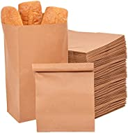 50 PCS Kraft Paper bags lunch Brown large 33x18x11cm. Best for grocery, wedding gift, snack bags, sweets and b