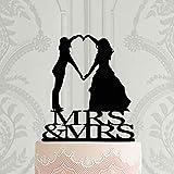 Décoration de gâteau de mariage, mariage Lesbienne, décoration de gâteau, décoration de gâteau, décoration de gâteau LGBT, décoration de gâteau personnalisée.